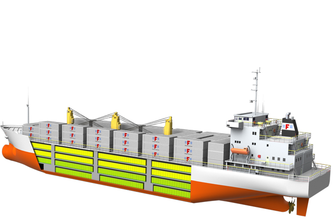 Zespri is providing cargo guarantees for three new reefer vessels ordered by Fresh Carriers Co Ltd