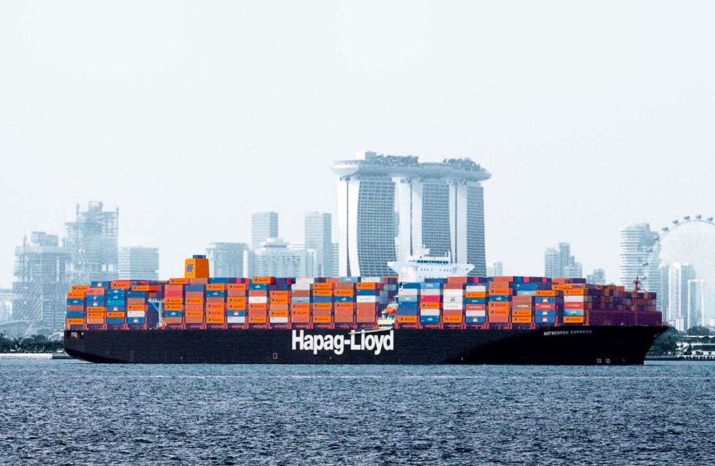 Hapag-Lloyd's positive outlook