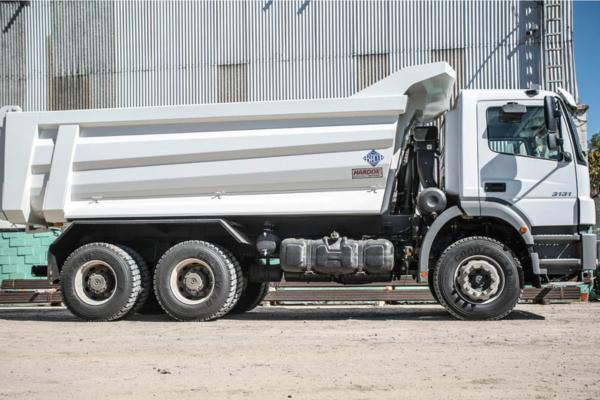 'Hardox extends tipper body lifespan by 30%'
