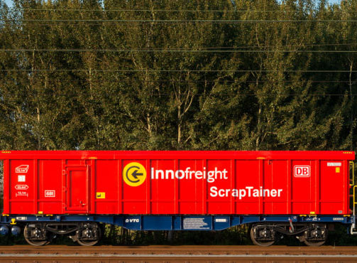 ScrapTainer innovation launched by Innofreight