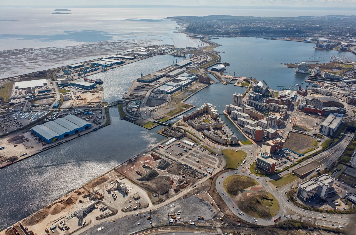 The Port of Cardiff