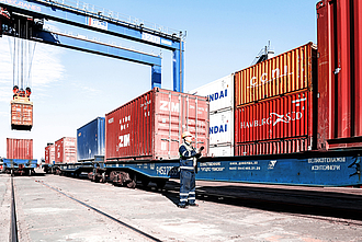 Ukraine container traffic: considerable growth
