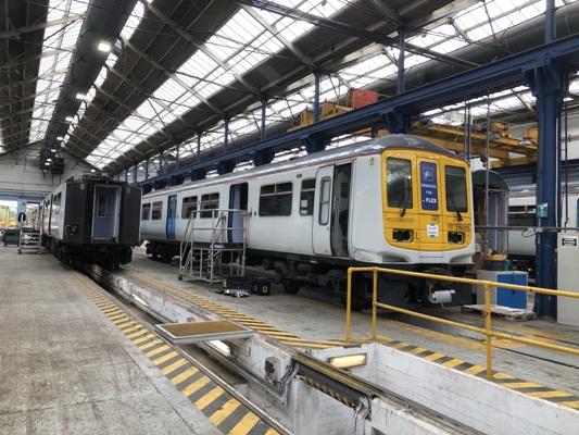 High speed urban freight logistics by rail