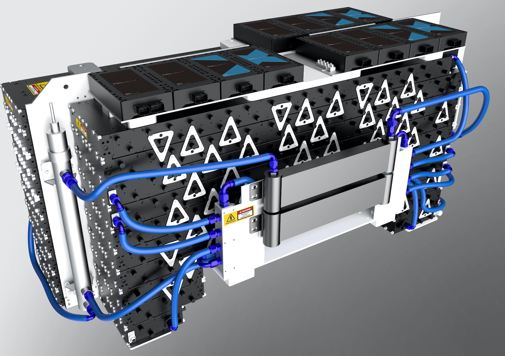XING Mobility's battery product utilises immersion cooling thermal management.