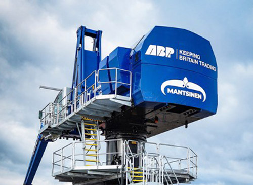 Mantsinen 120M Hybrilift for ABP Newport