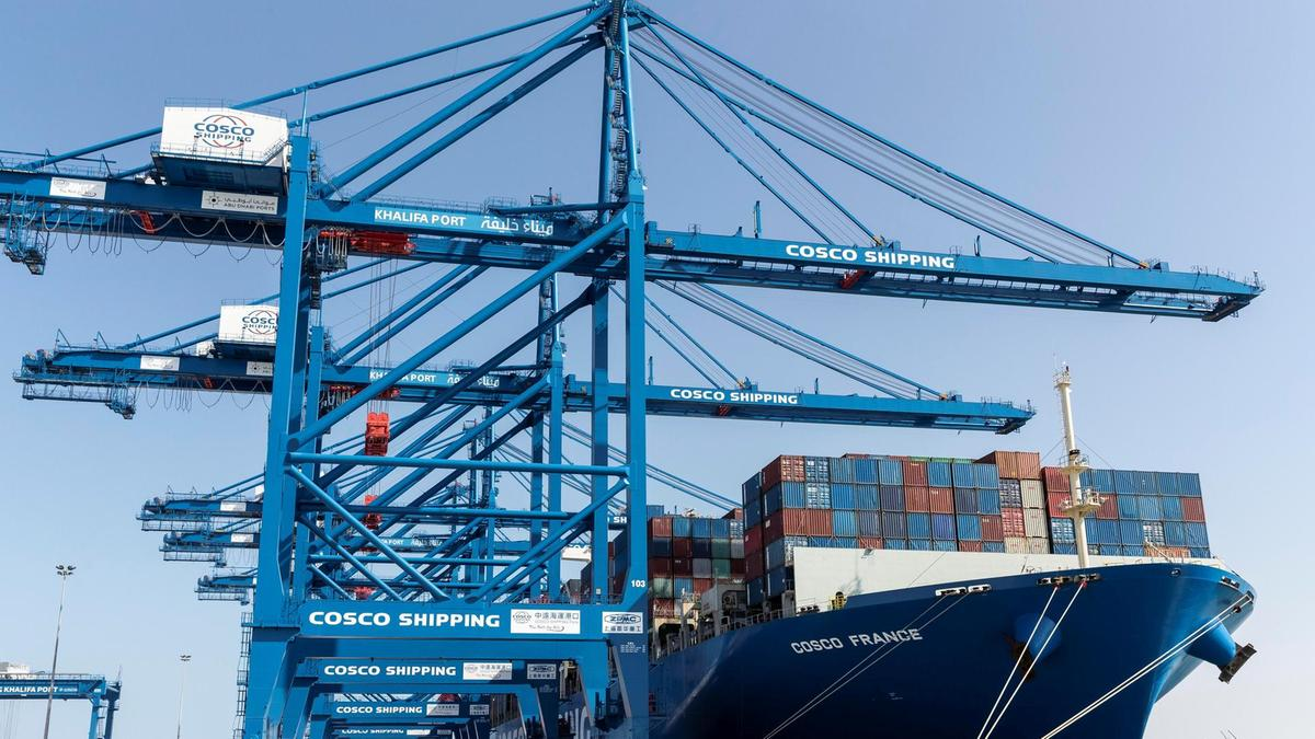 China Cosco has been progressively moving business to CSP Abu Dhabi this year