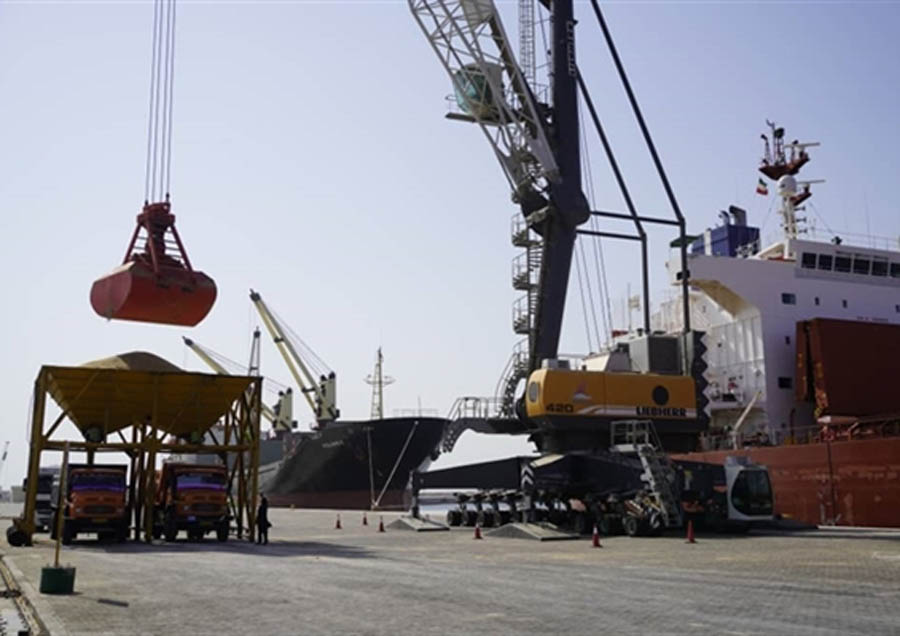 Chabahar claims stable flows of staple crops