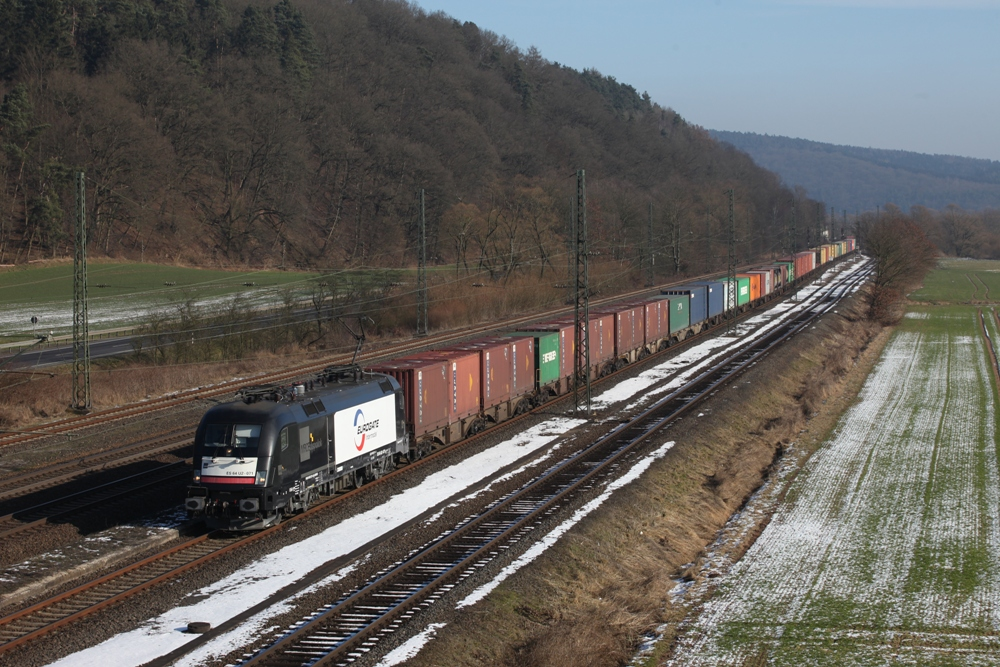 A Eurogate Intermodal block train. (Photo: EGIM)