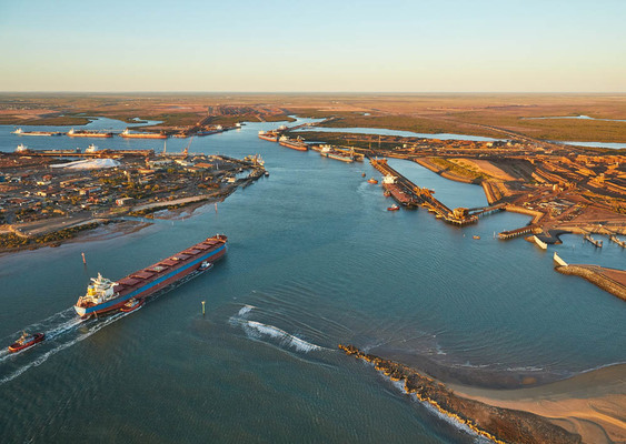 BHP pushes expansion at Port Hedland