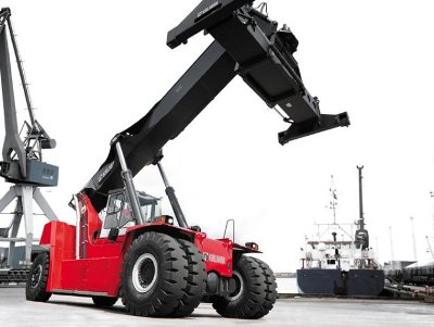 Kalmar teams with Bosch Rexroth to develop electric heavy lift trucks