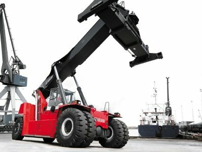 Kalmar teams with Bosch Rexroth to develop electric heavy lift trucks