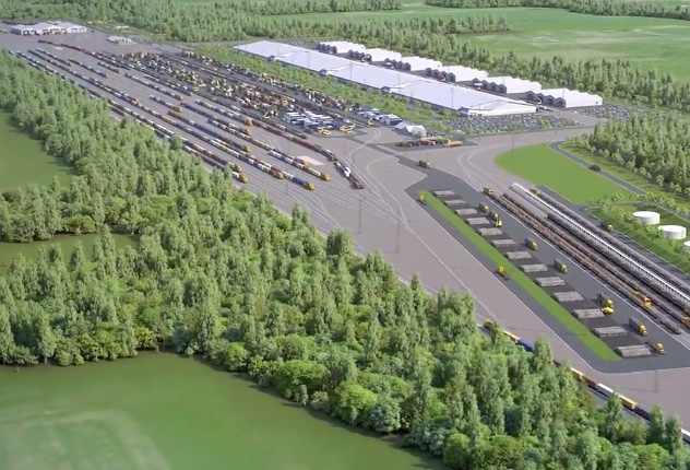 New intermodal terminal for NZ