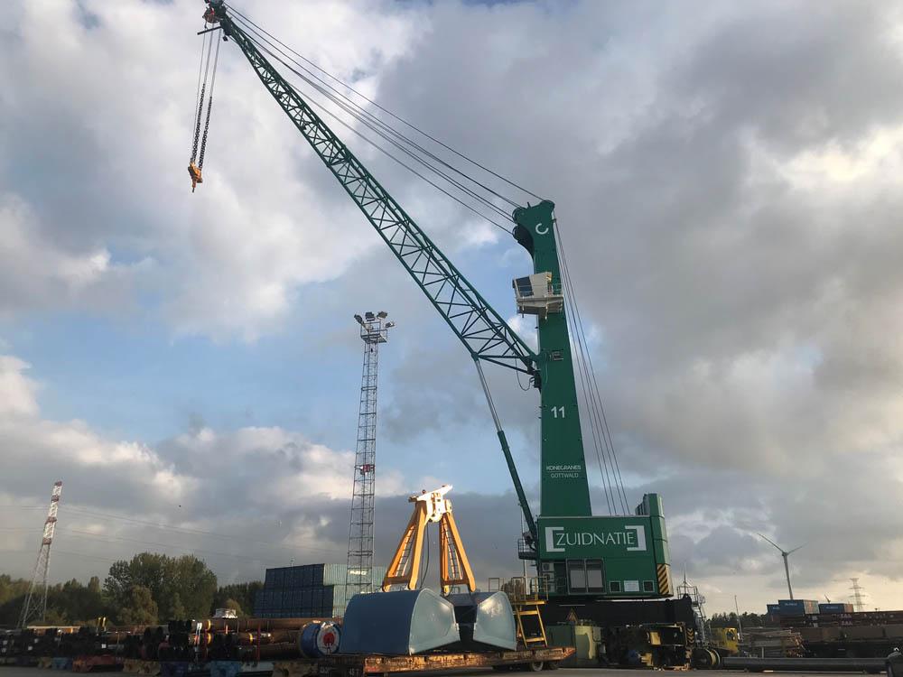 Electric Konecranes Gottwald MHCs for Antwerp