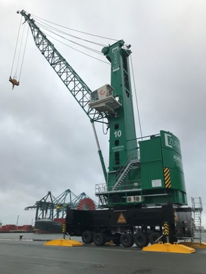 Mobile harbour crane business abounds