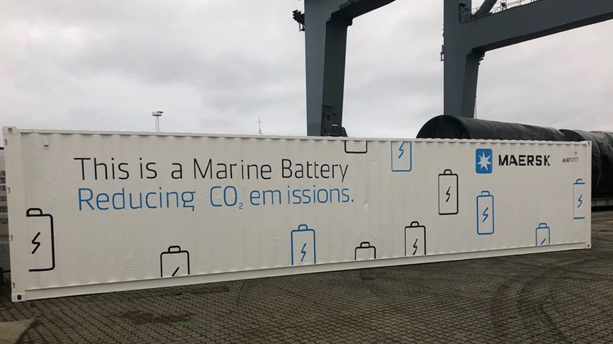 Maersk to test battery system