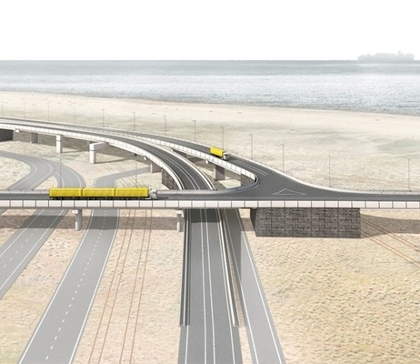 Autonomous trucks for Maasvlaktes' internal Container Exchange Route