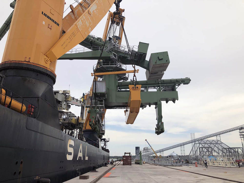 Siwertell ship-unloader delivered to Veracruz