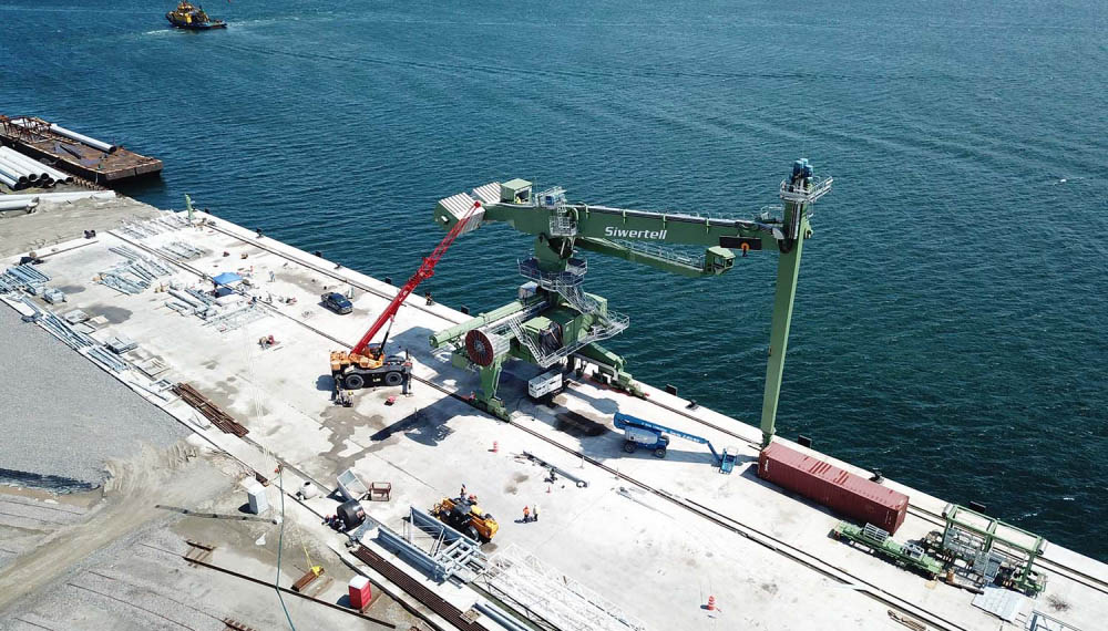 Siwertell ship-unloader delivered to Veracruz