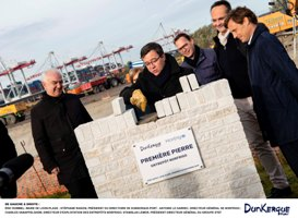 Construction of new Norfrigo cold store in Dunkirk begins