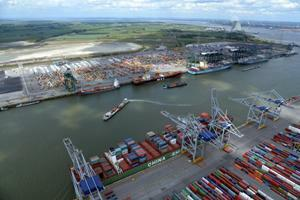 7.1M TEU Antwerp expansion plan approved