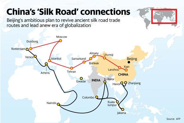 """Is """"One Belt, One Road"""" a China crisis for North Sea main ports?"""