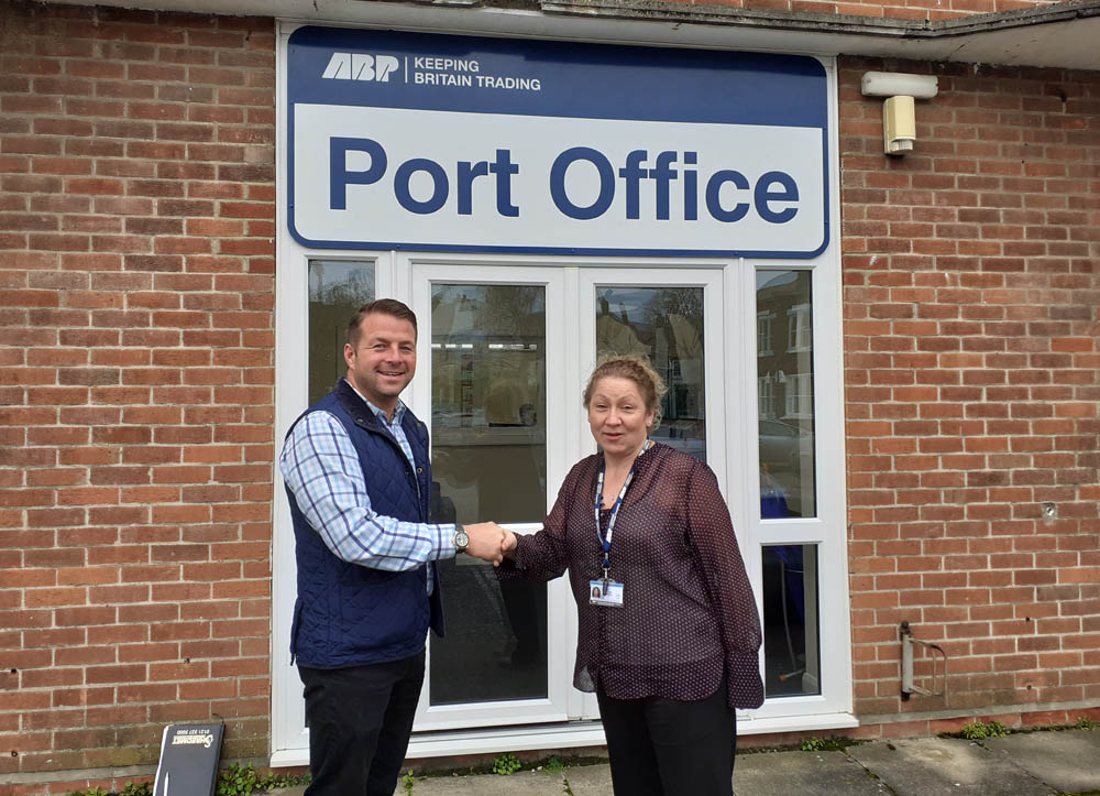Goldstar's Ben Ward and ABP King's Lynn's Kim Kennedy
