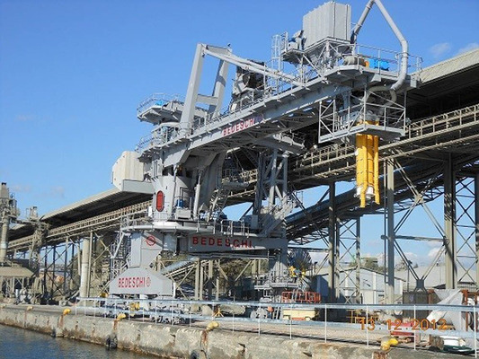 Riga Bulk Terminal gears up with Bedeschi