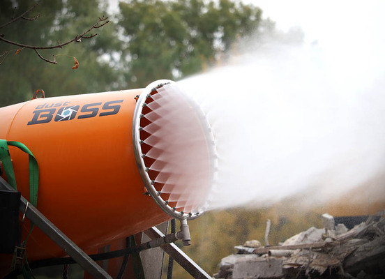 VFD offering promises dust suppression versatility