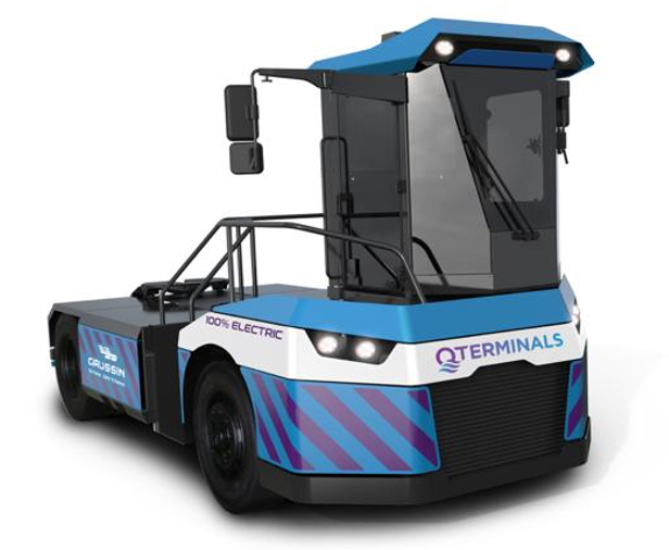 Electric tractors for Hamad