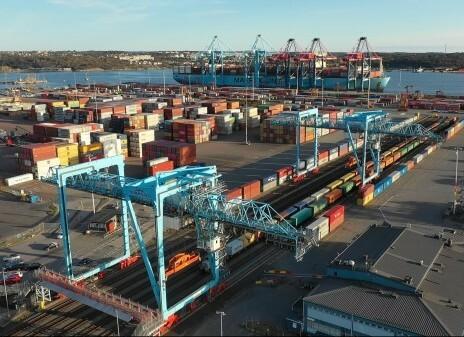 Intermodal rail boosts Gothenburg