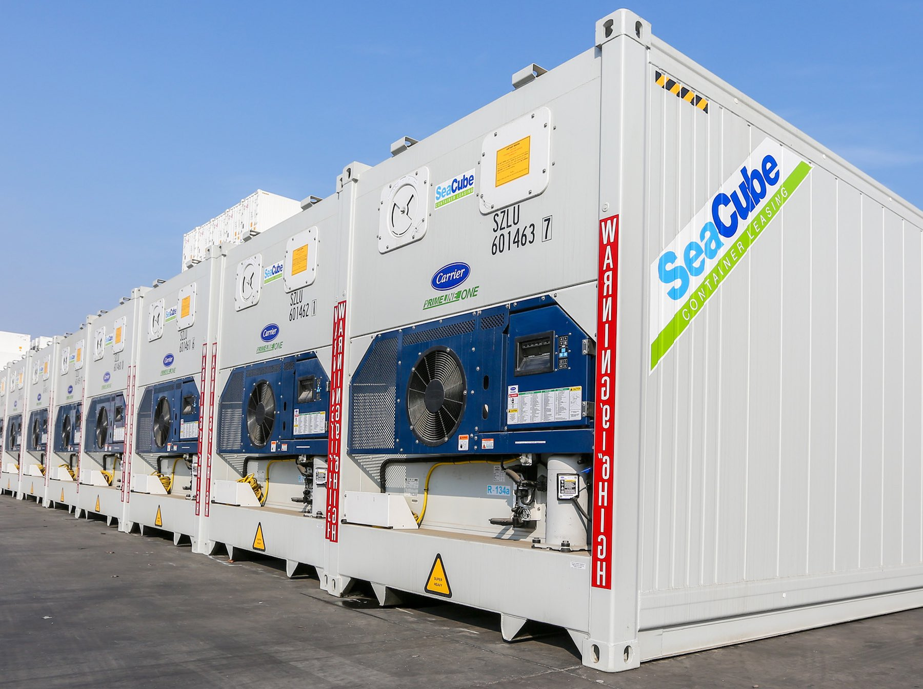 5,000 new PrimeLine reefers for Seacube