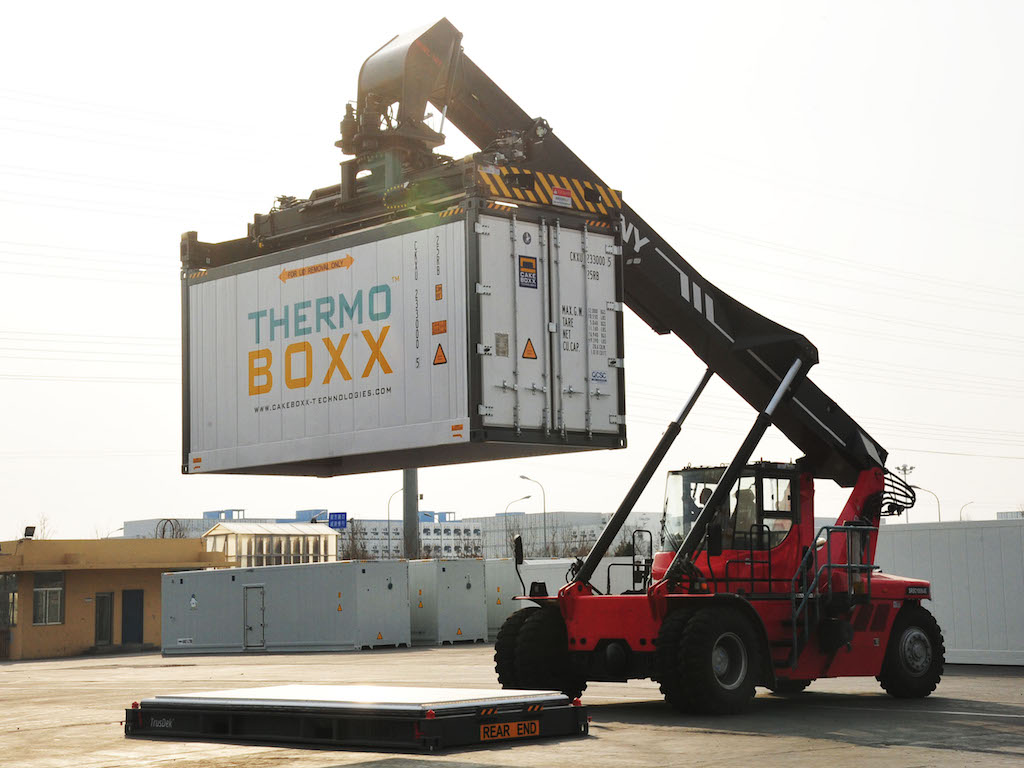 CakeBoxx launches two piece reefer container