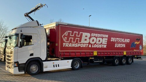 Bode to operate Scania electric test trucks