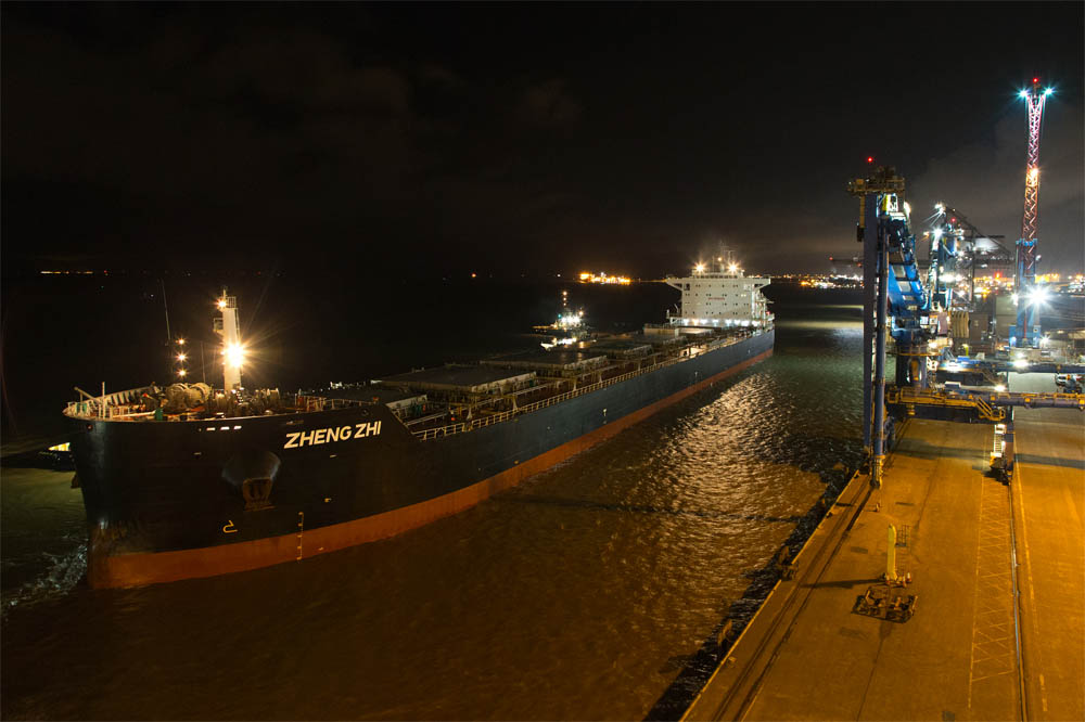 Bumper biomass arrival at Port of Immingham