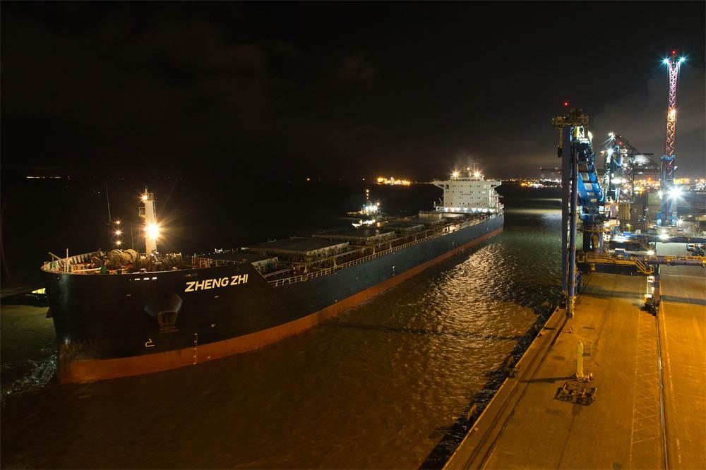 Bumper biomass arrival at Port of Immingham