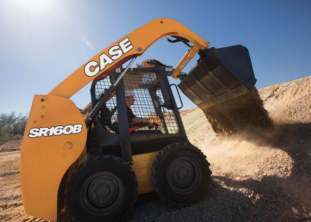New compact track and skid steers loaders