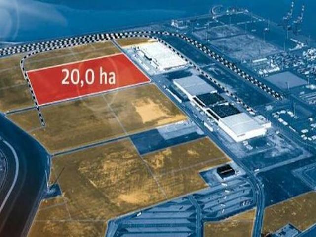 China Logistics for JWP Wilhelmshaven