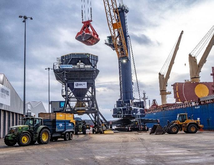 Bulk terminal at Rosyth fully operational