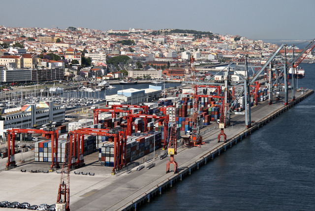 Emergency action in Lisbon