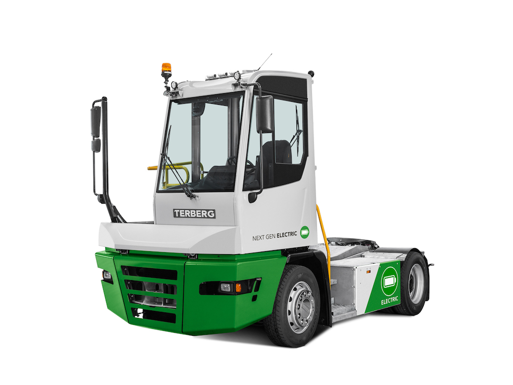 New electric tractors from Terberg