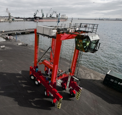 Kalmar to supply its first straddle carrier in Japan