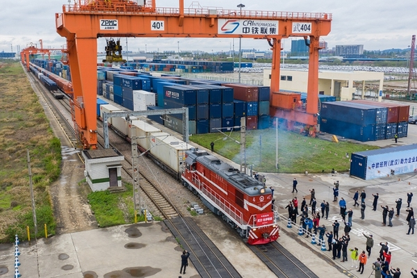 Rail freight from Wuhan to Europe has restarted