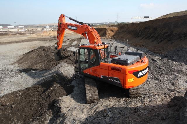 Doosan crawler excavators scoop awards
