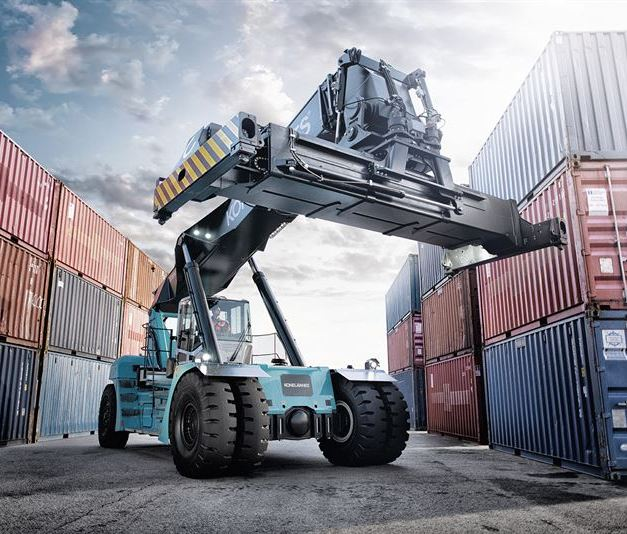 Konecranes books its biggest ever reach stacker order - for a new type