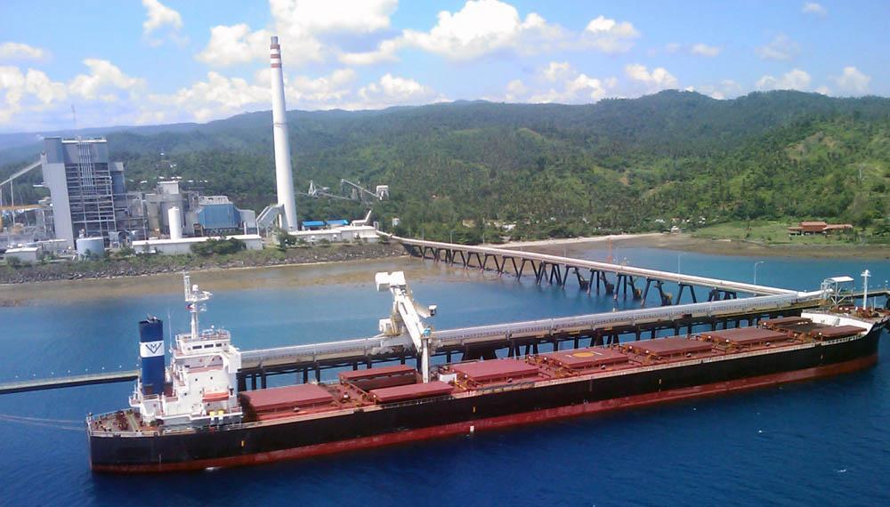 Quezon's existing Siwertell unloader was delivered in 1998