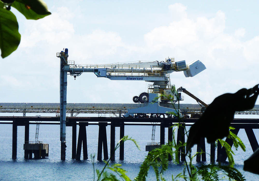 Siwertell ship-loader for Philippines power plant
