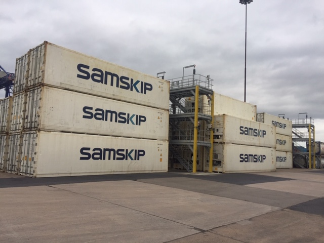 ABP adds reefer racks at Hull