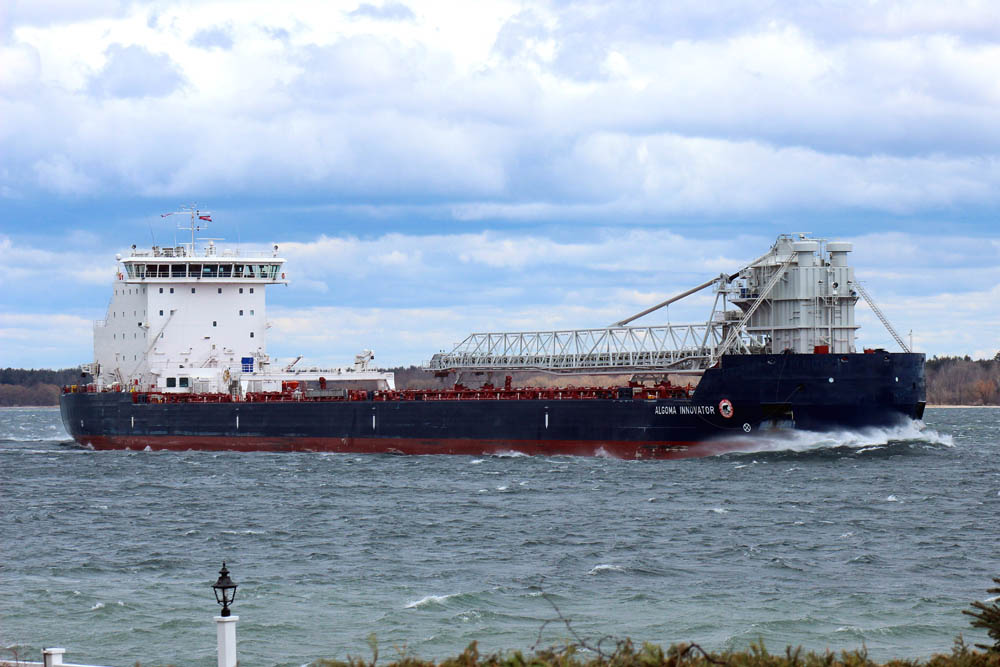 Algoma will take delivery of the sister ship to Algoma Innovator in September 2020