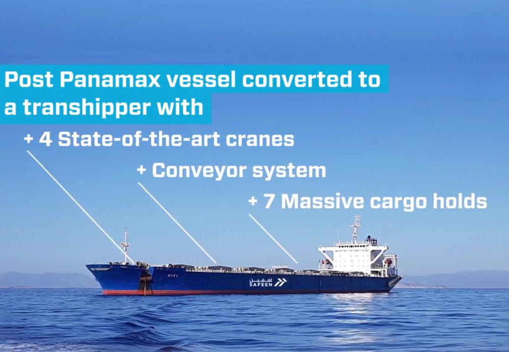 Abu Dhabi Ports enters bulk transhipment sector