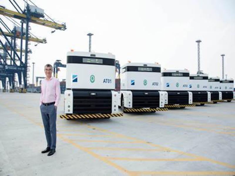 Hutchison Ports first to introduce autonomous tractors to Thailand